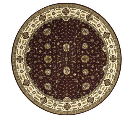 Momeni Persian Garden 8' x 8' Round Power Loomed Wool Rug