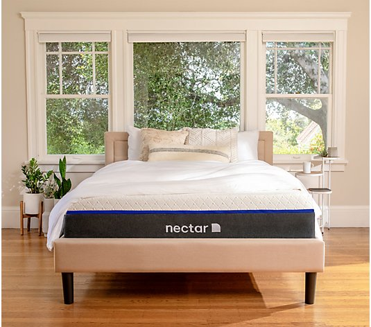 "Nectar Lush 12"" Full Premium Memory Foam Mattress"
