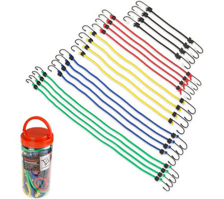 Stalwart 20 Piece Bungee Cord Assortment