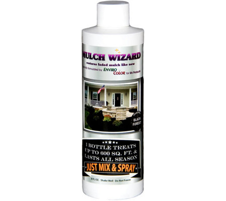 Mulch Wizard 8-oz Color Dye Bottle