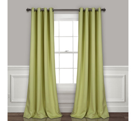 "Grommet Blackout 52"" x 95"" Window Curtains by Lush Decor"
