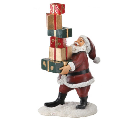 Santa Balancing Packages By Valerie