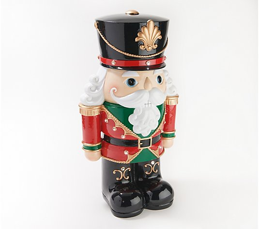 Plow & Hearth Indoor/ Outdoor Illuminated Holiday Shorty Statue