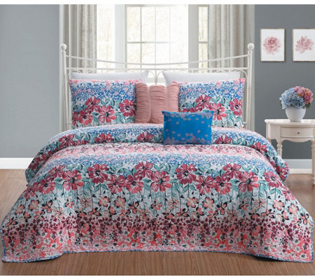 Avondale Manor Carla 5-Piece King Quilt Set