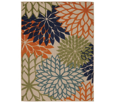 "Nourison Aloha Indoor/Outdoor 3'6"" x 5'6"" AreaRug"