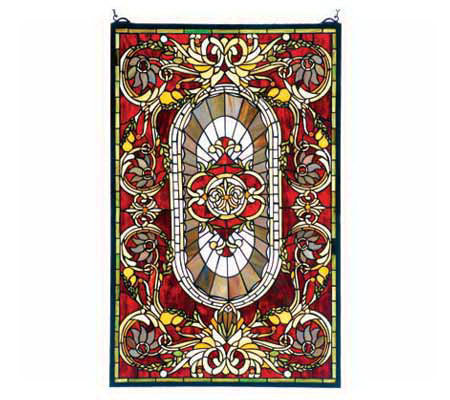 Tiffany Style Regal Splendor Window Panel