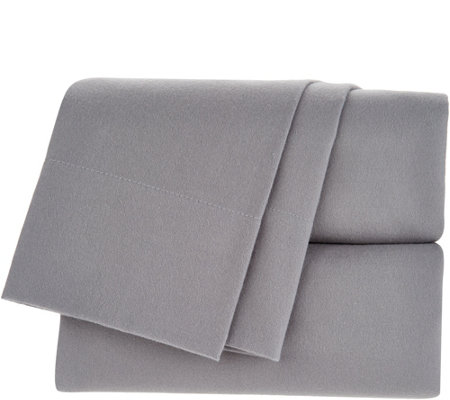 """As Is"" Northern Nights 175GSM Brushed Flannel King Sheet Set"