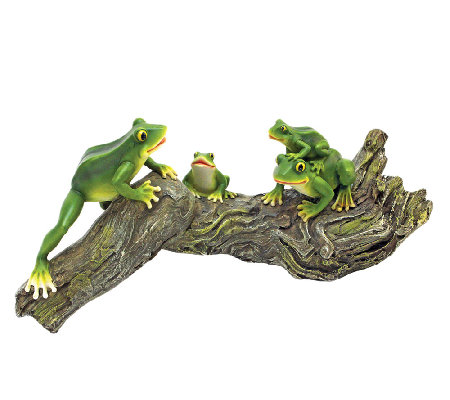 Design Toscano Froggy Business Garden Statue