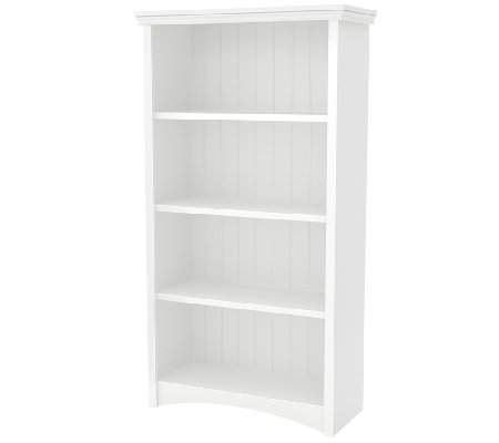 South Shore Gascony 4-Shelf Bookcase