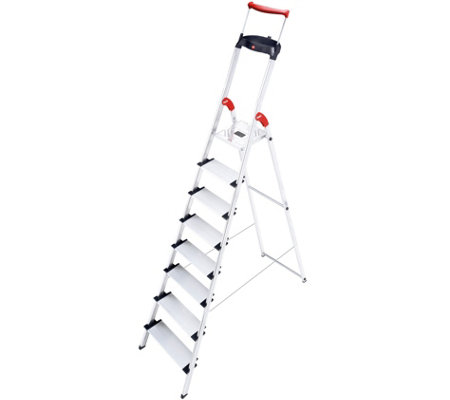 Hailo XXR 8-Step Aluminum Safety Ladder