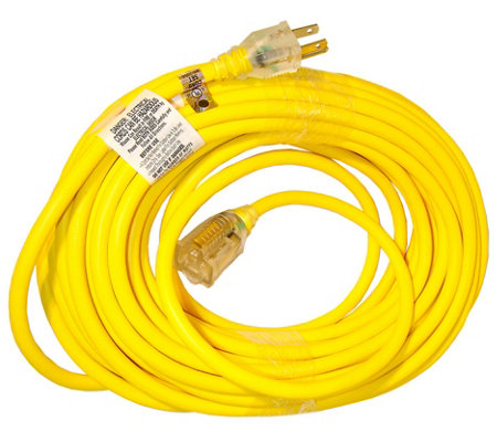 Snow Joe 50' 14 Gauge Low Temp Extension Cord with Lighted End