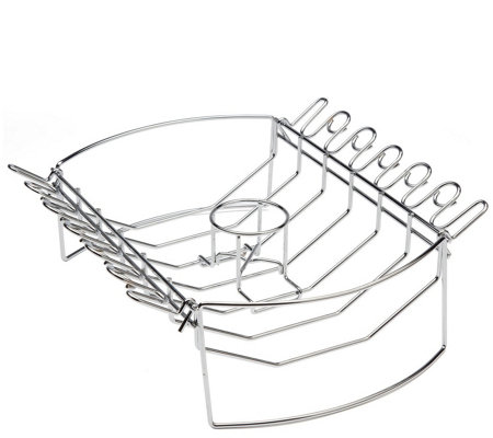 Cuisinart 4-in-1 BBQ Basket with Chicken Wing Rack