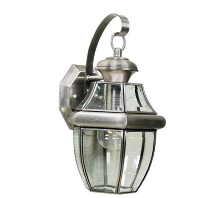 Quoizel Newbury Pewter Outdoor Sconce