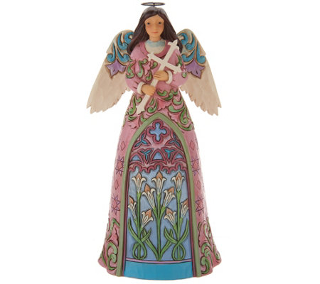 Jim Shore Heartwood Creek Spring Lily Angel Figurine