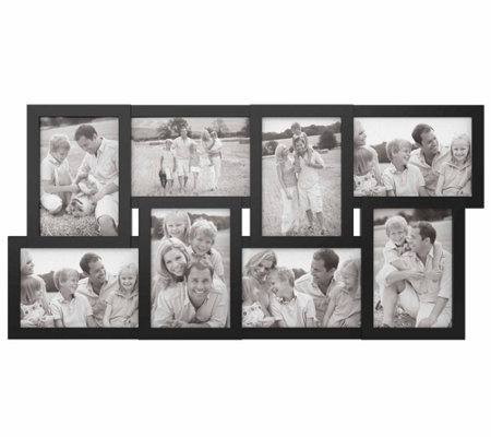 Lavish Home 8-Photo Display Collage Picture Frame