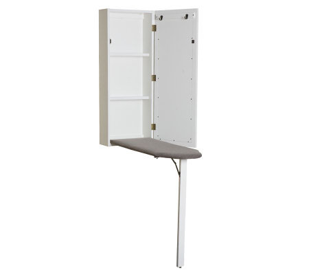 Wall-Mount Ironing Center - White
