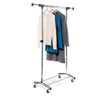 Honey-Can-Do Garment Rack - Commercial Chrome