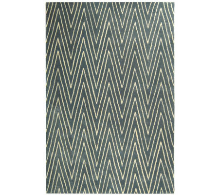Thom Filicia 4' x 6' Griffith Park Handtufted Wool/Viscose Ru