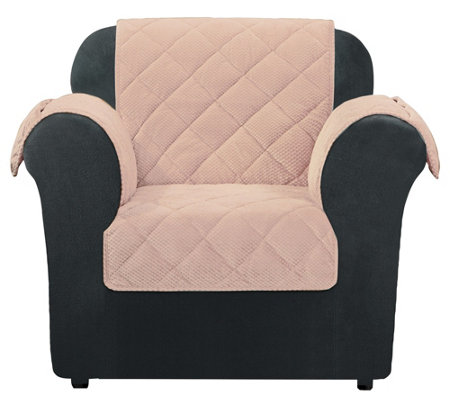 Sure Fit Chair Textured Pique Waterproof Furniture Cover