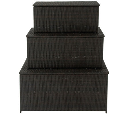 Cambridge 3-in-1 Deck Storage Box Set
