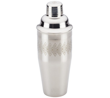 Ayesha Curry Barware 4-in-1 Stainless Steel Cocktail Shaker