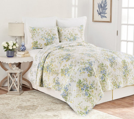 Wildflower King Quilt Set by Valerie