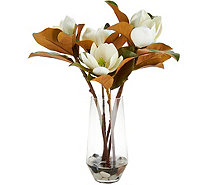 Water Illusion Floral Arrangement with Rocks by Valerie - H214829
