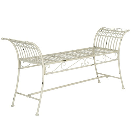 Hadley Iron Bench by Valerie