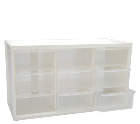 ArtBin Store-In-Drawer Nine-Drawer TranslucentCabinet