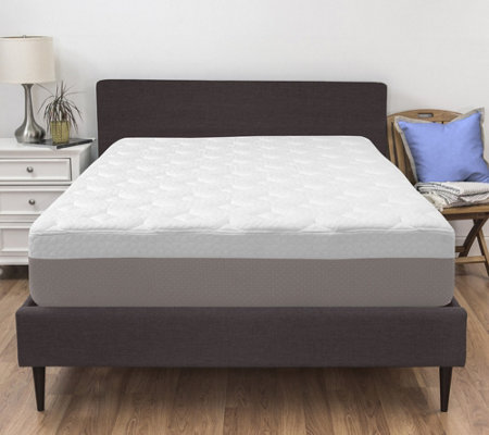 "Pedic Solutions 14"" King Quilted Gel Memory Foam Mattress"