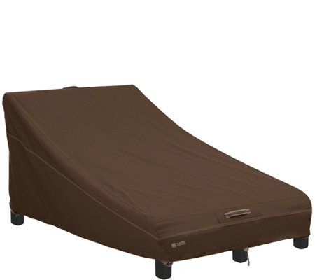 Madrona Rainproof Double Wide Patio Chaise Lounge Cover