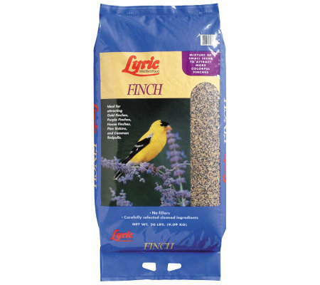 Lyric 20-lb Finch Food Bag
