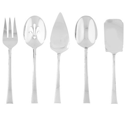 Lenox Oversized 18/10 Stainless Steel 5 Piece Serve Set