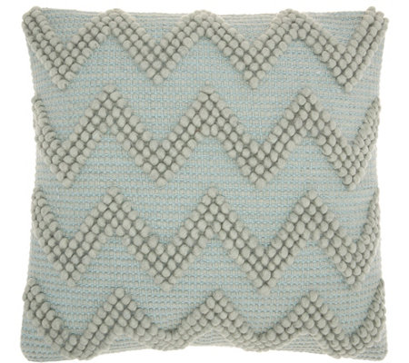 "Mina Victory Life Styles Large Chevron 20"" x 20"" Throw Pillow"