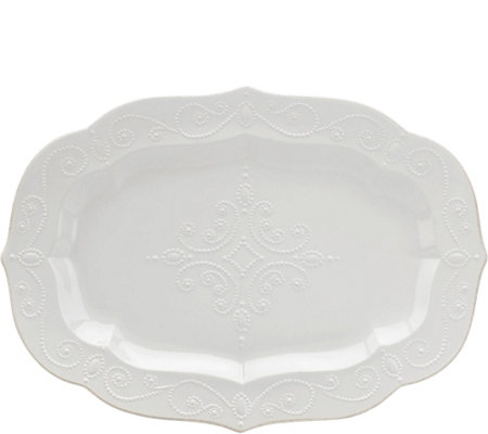 Lenox French Perle Large Serving Platter