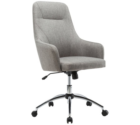 Techni Mobili Height Adjustable Rolling OfficeDesk Chair