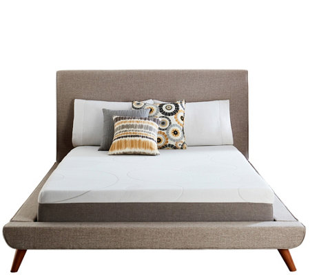 Comfort Escape 10 Gel Memory Foam King Mattress Qvc Com