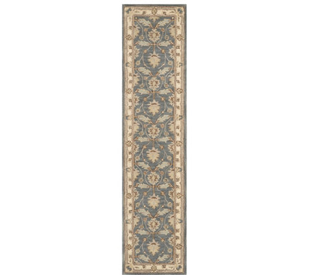 "Nourison India House Blue 2'3"" x 10' Runner"