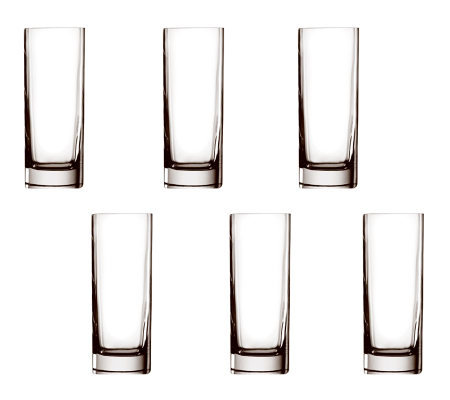 Luigi Bormioli 13.5-oz Strauss Beverage Glasses- Set of 6