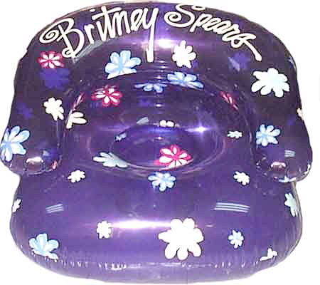 Britney Spears Inflatable Chair Qvc Com