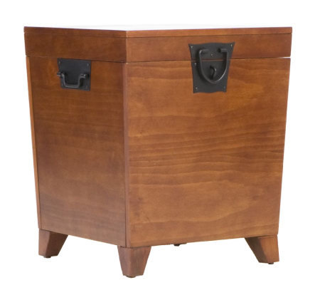 Home Reflections Mission Oak Pyramid End TableTrunk
