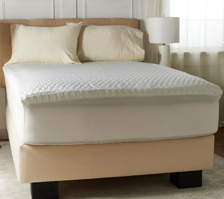"Sleepology 2"" Energex Foam Twin Waterproof Mattress Topper"