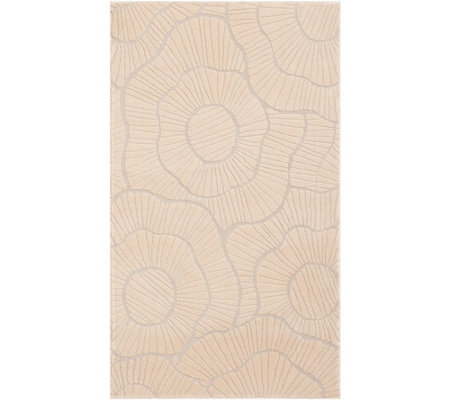 "Stay by Stacy Garcia 26"" x 45"" Poppies Accent Rug"