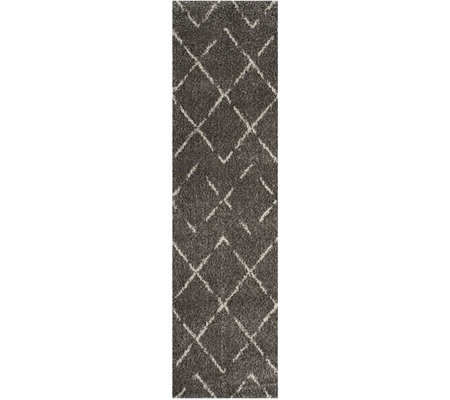 "Safavieh 2'3"" x 8' Tucson Arizona Shag Runner"