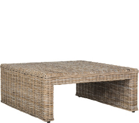 Persis Wicker Coffee Table by Valerie