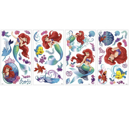 RoomMates The Little Mermaid Peel & Stick WallDecals