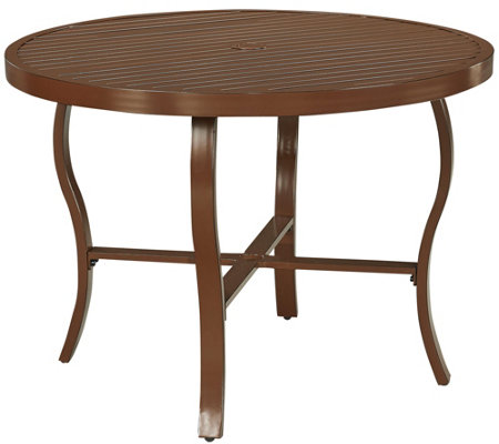 "Key West 42.5"" Round Outdoor Dining Table"