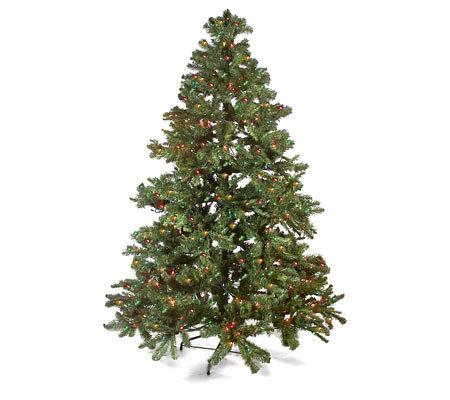 7 pre lit christmas tree with twinkle option - Pre Lit Christmas Trees On Sale