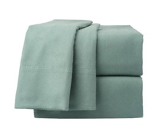 Northern Nights Luxury Cotton Flannel King Size Sheet Set Qvc Com