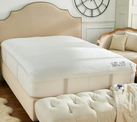 Perfect Fit Invisiwire Microplush Queen Mattress Pad